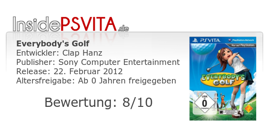 Everybodys Golf Bewertung