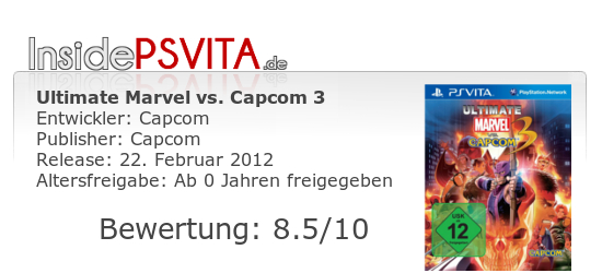 Ultimate Marvel vs. Capcom 3 Bewertung