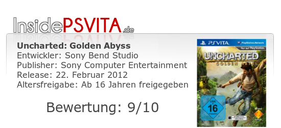 Uncharted Golden Abyss Bewertung