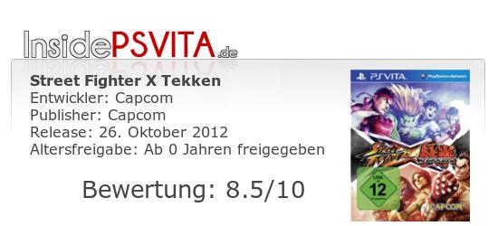 Street Fighter X Tekken Bewertung