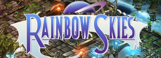 Rainbow Skies Banner
