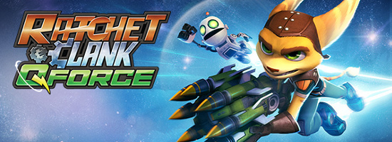 Ratchet Clank QForce Banner
