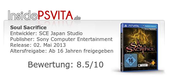 Soul Sacrifice Bewertung PS Vita