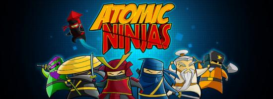 Atomic Ninjas Banner