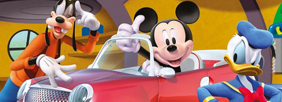 Disney Speedster Banner