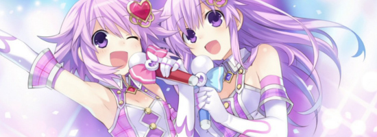 Hyperdimension Idol Neptunia PP Banner