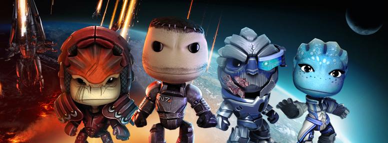 LBP Vita Mass Effect 3 Kostümpaket