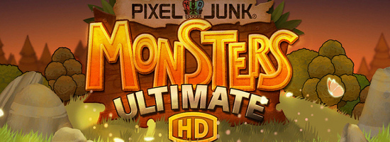 Pixel Junk Monsters Ultimate HD Banner