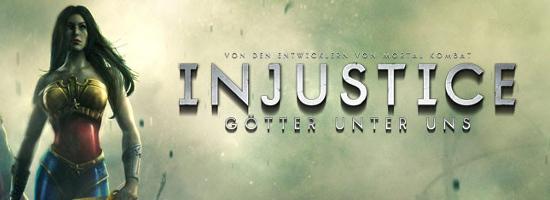 Injustice Goetter unter uns Banner