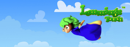 Lemmings Touch Banner