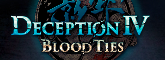 Deception IV Blodd Ties Banner